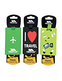 Trespass Traveltag 2016 Luggage Tags (One Size) (Multi)