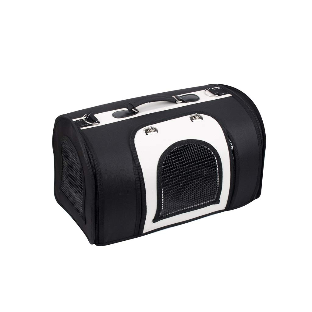 B 412325cm B 412325cm Wolaoma Pet Backpack Oxford Cloth Portable Out Adjustable Shoulder Strap (color   B, Size   41  23  25cm)