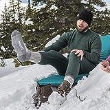 Minus33 Merino Wool 903 Day Hiker Sock Grey Heather