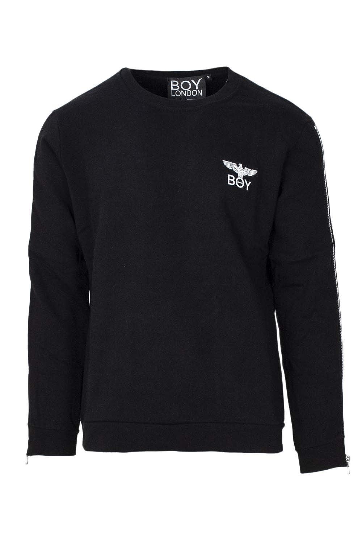 Boy London Sweatshirt Herren Print and Zip BLU5062
