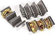 U-Taste Stainless Steel Taco Holder Rack Stand Tray