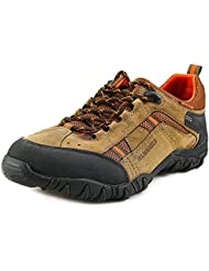 Allrounder by Mephisto Mens Selino Tex Suede, Rubber, Mesh, Textile Hiking Sneakers