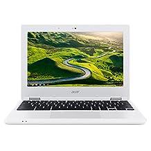 Acer CB3-131-C0UG 11.6-Inch Chromebook (Intel N2840, 2GB DDR3 Memory, 16GB SSD, Intel HD) with Google Chrome, Bilingual French Keyboard