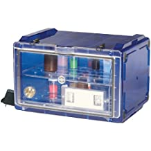 Bel-Art Secador Blue 4.0 Horizontal Auto-Desiccator Cabinet with Clear Door; 120V