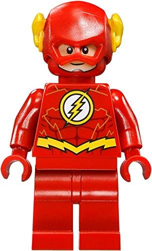 LEGO DC Comics Super Heroes Jusctice League Minifigure - Flash Gold Outline (76098)