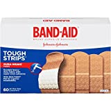 Band-Aid Brand Adhesive Bandages, Tough Strips, 60 Count