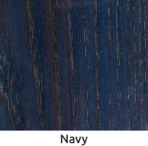 WooDeeDoo – Tinte para madera, Tinte para madera, azul marino, Tester Pot 10 ml
