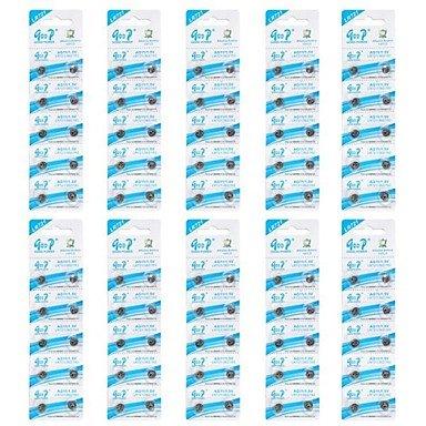 GOOP AG11/LR721/362/162 1.5V アルカリ電池(10パック/100個) B00VQ524HU