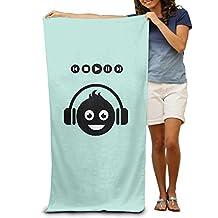 Smiley Emoticons Adult Beach Towel