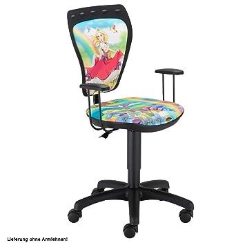Nowy Styl Schreibtischstuhl Kinderzimmer Kinder Mädchen Prinzessin