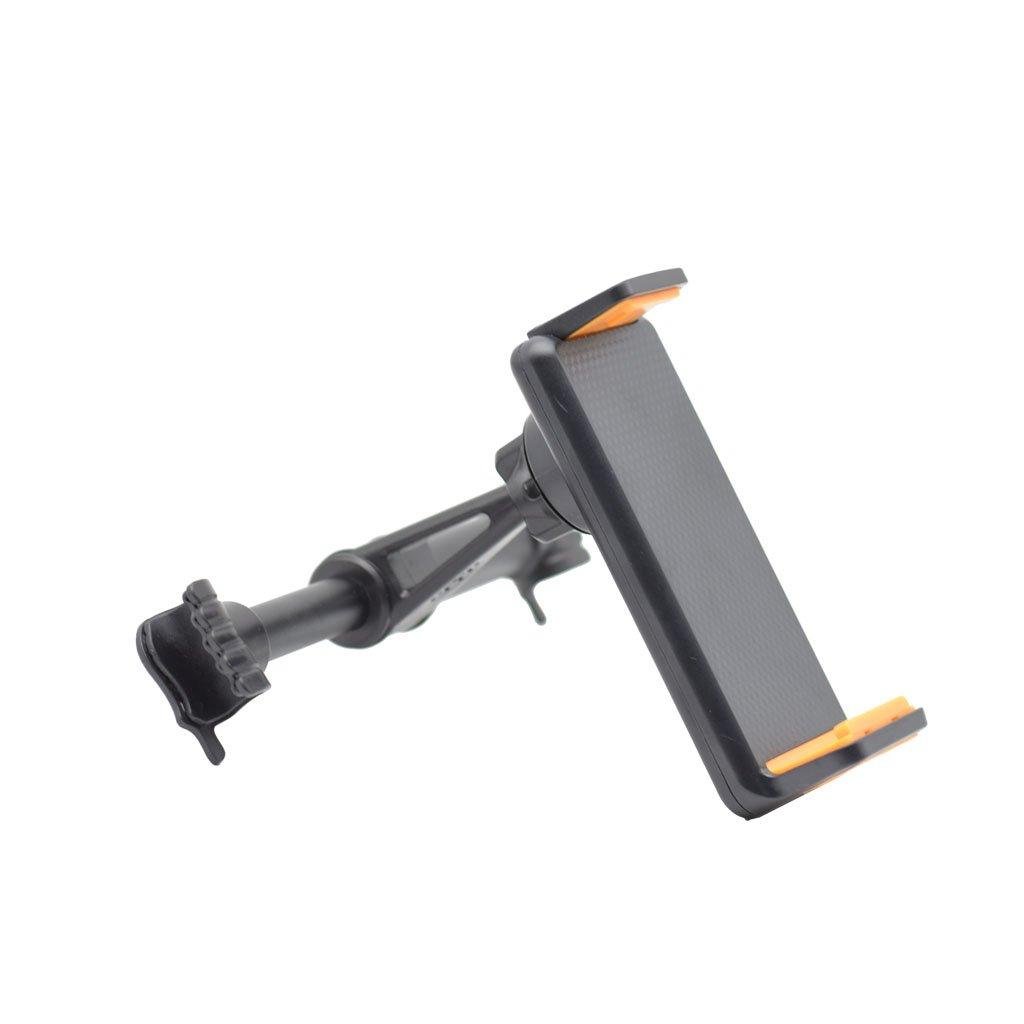 Exing Tablet Kopfst/ützenhalter,360˚ Drehen Auto R/ücksitz Kopfst/ütze Halterung St/änder Halter f/ür 3,5-6 Zoll Telefon Tablet