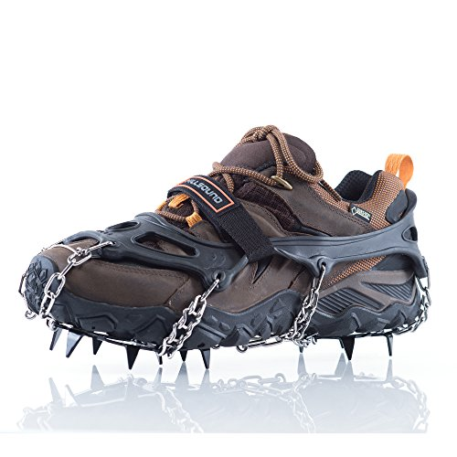 Hillsound Trail Crampon Traction Device, Black, Medium