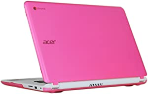 "iPearl mCover Hard Shell Case for 15.6"" Acer Chromebook 15 C910 / CB3-531 / CB5-571 / CB3-532 Series Laptop (Pink)"