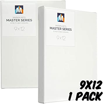 Markin Arts Master 1.5 Profile Swedish Solid Wood Acid//Discoloration Free 100/% Grade A 15oz Heavy Weight Cotton Titanium Acrylic Gesso Primed Professional Artist Art Stretched Canvas 15x30 1-Pack