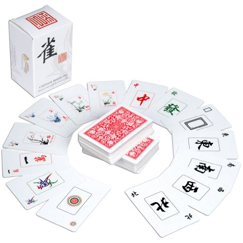 Traditional Chinese Mahjong Playing Cards - 144 Card Set