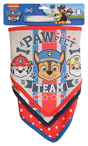 Price comparison product image Nickelodeon Paw Patrol 3 Pack Bandana Bibs