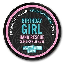 Birthday Girl Hand Rescue