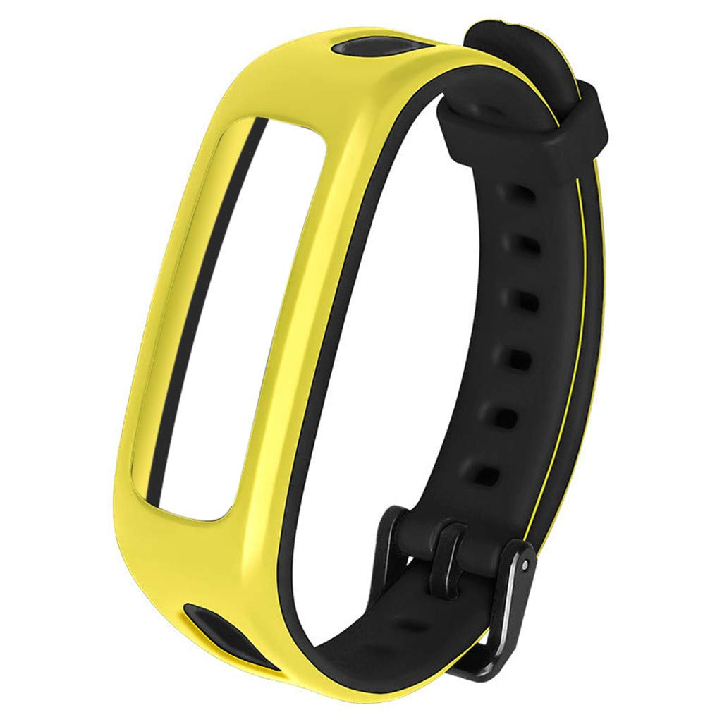 for Huawei Honor 4 Watch Band Bracelet Replacement Sport Silicone Strap Wirstband Bands for Huawei Honor 4 Smart Watch (D)