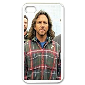Generic Case Pearl Jam Band For iPhone 4,4S QQA1118762 Kimberly Kurzendoerfer