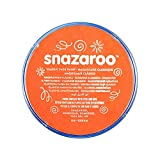 Snazaroo Face and Body Paint, 18 ml - Orange (Individual Colour)