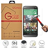 HTC One M8 Screen Protector, GG MALL® HTC M8 Glass Screen Protector - Tempered Glass - Ultra-thin [0.26mm] Ballistics Glass for HTC One M8 (with Retail Package)