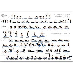 yhnjikl Yoga Ashtanga Pose Principiante Primaria Namaskara ...