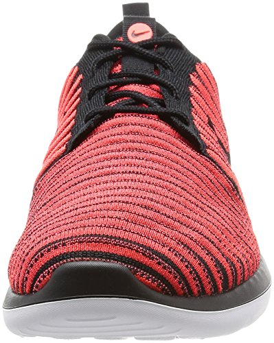 Black Mens Black NIKE Running Two Crimson Roshe bright Flyknit white Shoes 4aw0RFqa