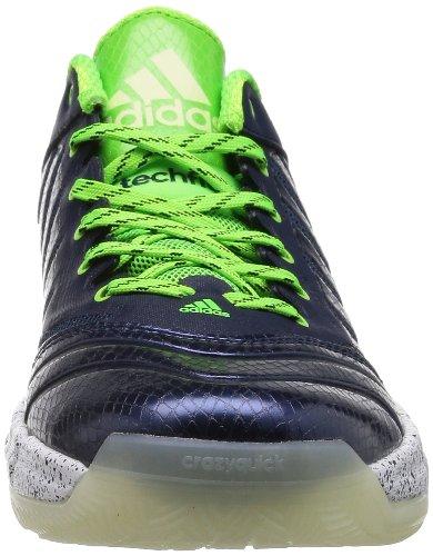 adidas Crazyquick 2 Low Zapatillas de baloncesto para hombre - verde-Blue-47.5