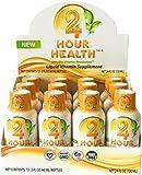 Vegan Liquid Multivitamin – 24 Hour Health – 12 Pack – Sweet Orange For Sale
