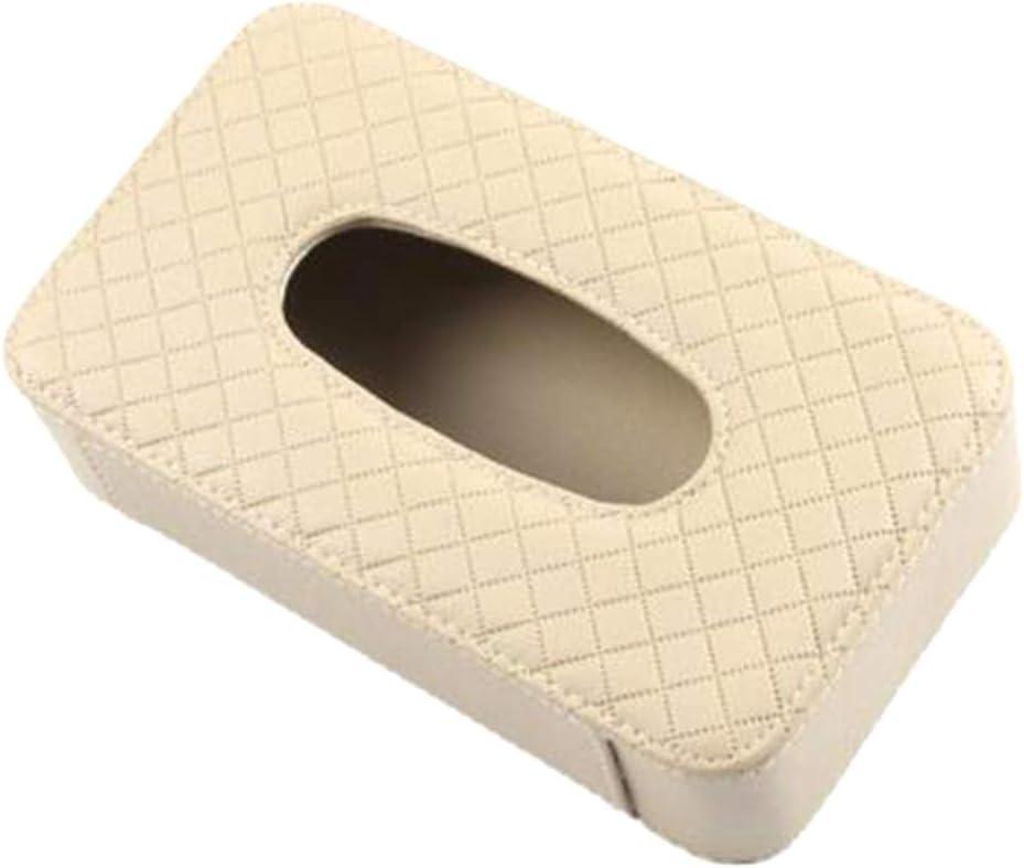 Xinlie Caja de Pañuelos de Coche Visera Caja de Pañuelos de Papel ...