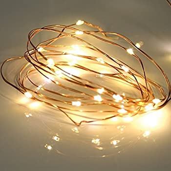 Bzone Led Tiny Micro Battery String Lights Copper Wire Bedroom Fairy Light 20 Leds