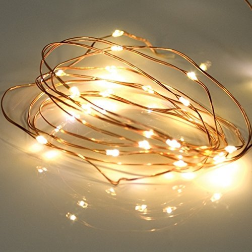 bzone led tiny micro battery string lights copper wire. Black Bedroom Furniture Sets. Home Design Ideas