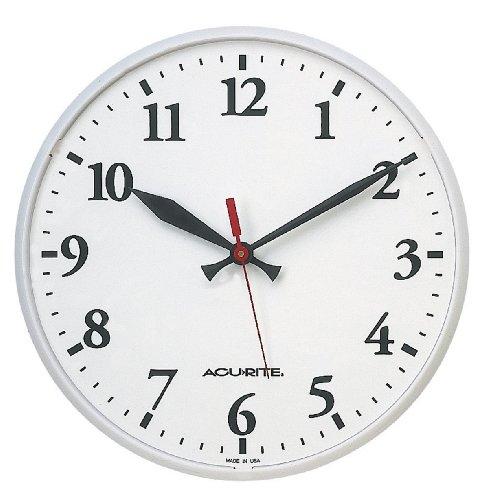 Acu-Rite 12.5 in. Indoor/Outdoor Wall Clock
