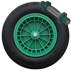 35,56 cm de repuesto carretilla Universal hinchable de neumático y rueda