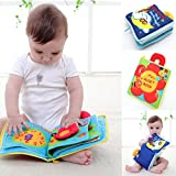 Product review for YOOMUN 2PCS Soft Cloth Baby Books --Non-toxic, Colorful, Squeak and Rattle, Handmade Educational Toys for Baby,YOOMUN Activity Soft Baby Book, Handmade Educational Baby Toys for 0-3 Years
