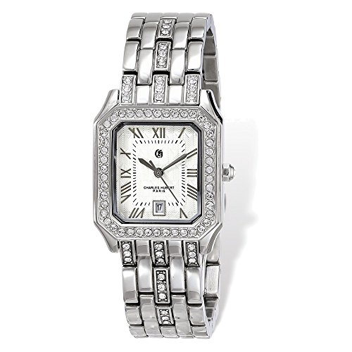 Ladies Charles Hubert Stainless 26 x 32mm Watch by Jewelry Adviser Charles Hubert Watches