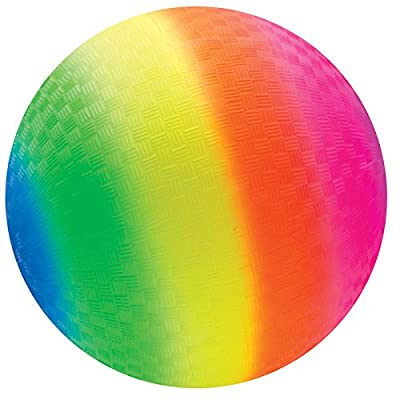 Schylling Rainbow Ball RBL: Toys & Games