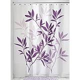 Amazoncom Purple Shower Curtains Hooks Liners Bathroom