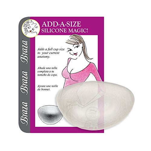 Braza Silicone (Braza Add A Size - Silicone Breast Enhancer)