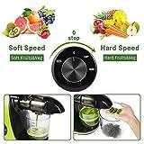 CIRAGO Juicer Machines, Slow Masticating Juicer