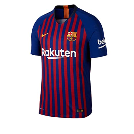 b5f2c9e1555 Buy GOLDEN FASHION Football Jersey Barcelona Home KIT RED and Blue 2018-19  Jersey with Short Online at Low Prices in India - Amazon.in
