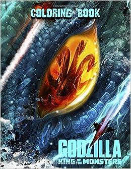 Amazon Com Godzilla Coloring Book Coloring Book For Kids