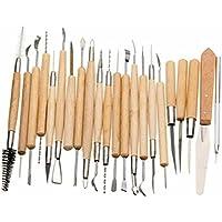 Herramienta de escultura - SODIAL(R)22 Paquete Talladores Arcilla