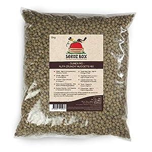 Seedzbox alimento premium de verduras y semillas para cobayas. Comida natural y completa para conejos de indias –con…