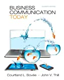 Book Cover for Business Communication Today Plus NEW MyBCommLab with Pearson eText -- Access Card Package (11th Edition)