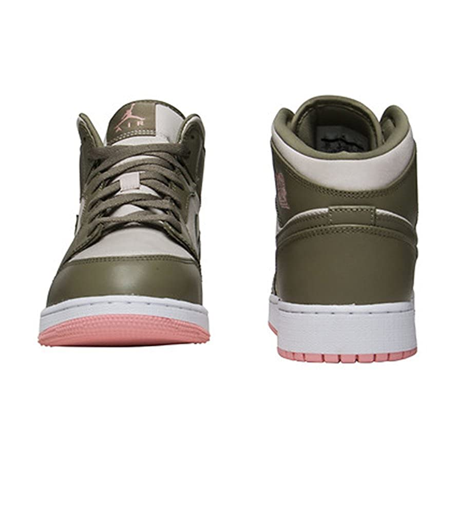 525dc9a3be58c7 Jordan Air Jordan 1 Mid (gs) Big Kids 555112-225 Size 9.5  Amazon.co.uk   Shoes   Bags