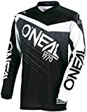 O'Neal Element MX SX Off Road YOUTH Jersey Black Grey Size Medium