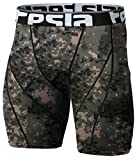 Kyпить CLSL TM-S17-PCKZ_Large Tesla Men's Compression Shorts Baselayer Cool Dry Sports Tights S17 на Amazon.com