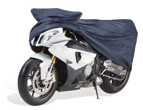 Cartrend Motorrad-Garage wetterfest, Größe L, Polyester blau