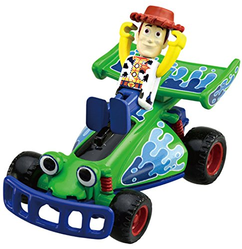 TAKARA TOMY Tomica Toy Story 02 Woody & RC (Rc Toy Story Remote Control Car)